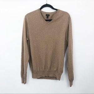 J Crew Mens Cotton Cashmere VNeck Sweater